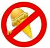 no ice cream