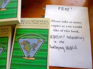 Wireless Networking in the Developing World, 3º edición en inglés: Llévense los que quieran