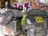 Garbage graffitti