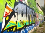 Graffitti hacia el hotel