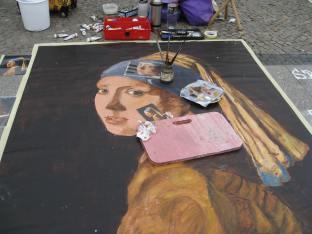 Vermeer de calle