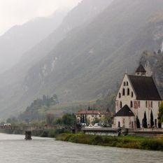 Vista del río Adige