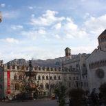 La plaza Bolívar, llamada Piazza Duomo