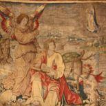 Tapices que fueron contemplados por los asistentes al Concilio de Trento