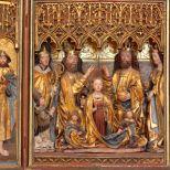 Bellos retablos del siglo XIII