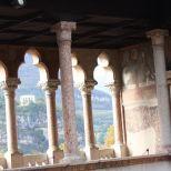 Vista de la ciudad desde el castello