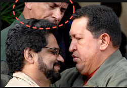 Iván, de las FARC y Hugo eran íntimos. El Pollo discreto detrás