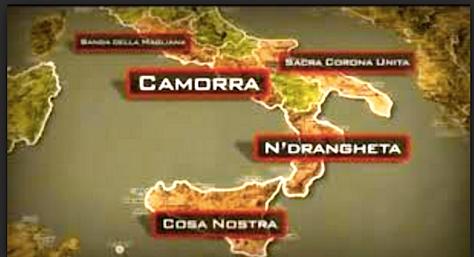Camorra, mafia, 'ndragheta, SCU