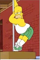 pole dancing homer
