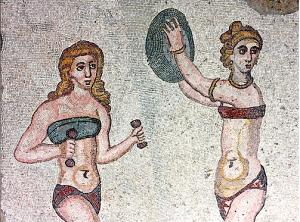 Villa del Casale. Sicilia. Siglo IV.